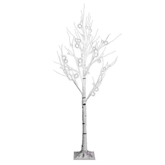 Danson Outdoor White Birch Tree - 4ft - 48 lights - X99037