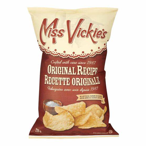 Miss Vickies Potato Chips - Original - 220g