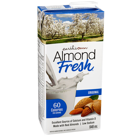 Earth's Own Almond Fresh - Original - 946ml