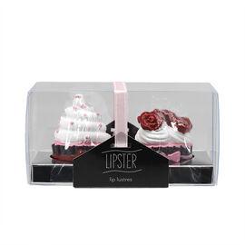 Star&Rose Lipsters Lip Gloss Set - Cupcake - 2's
