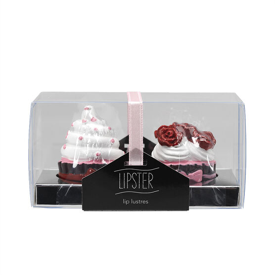 Star&Rose Lipsters Lip Gloss Set - Cupcake - 2's