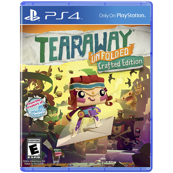 PS4 Tearaway Unfolded