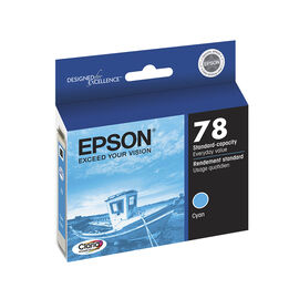 Epson 78 Claria Hi-Definition Ink 78 Standard-Capacity Colour Ink Cartridge