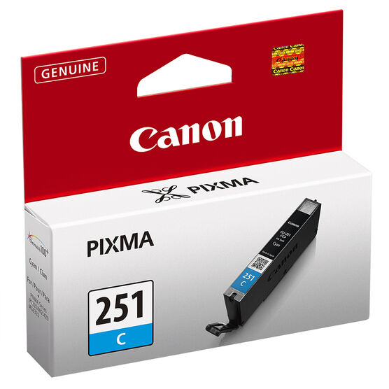 Canon CLI-251 Ink Cartridge - Cyan