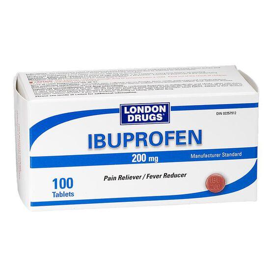 London Drugs Ibuprofen 200mg - 100 tablets