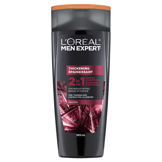 L'Oreal Men Thickening 2 in 1 Shampoo & Conditioner - 385ml