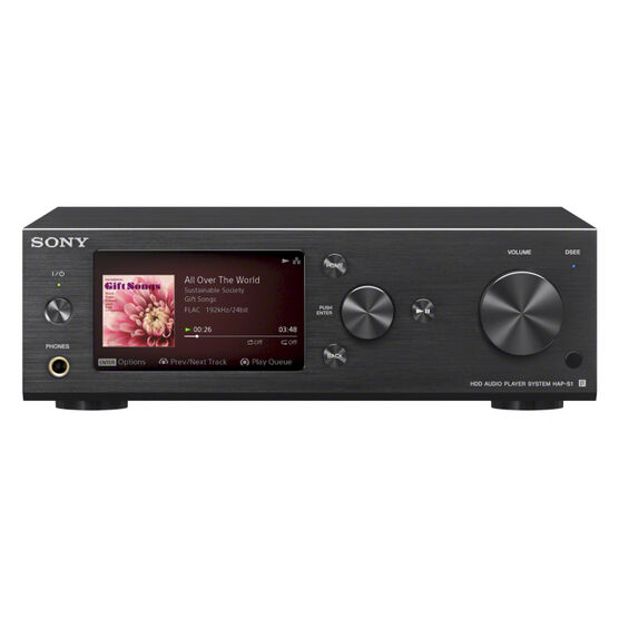 Sony 500GB Hi-Res Music Player System - HAPS1B