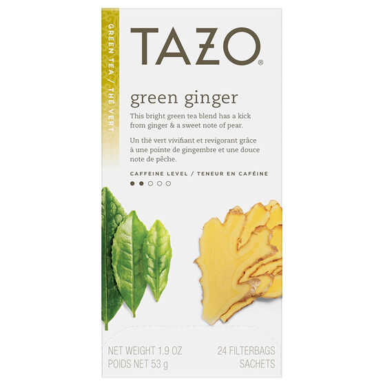 Tazo Green Ginger Green Tea - 24's