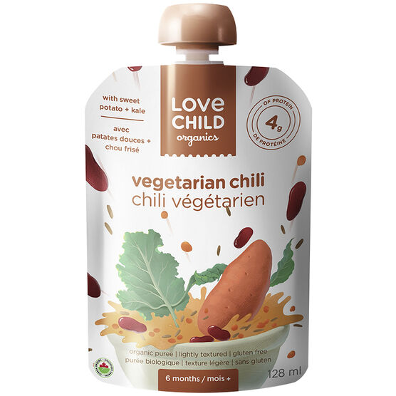 Love Child Vegetarian Chili - 128ml