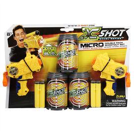X-Shot Excel Series - Double Micro Dart Blaster