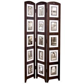 Triple Panel Floor Photo Screen - Java