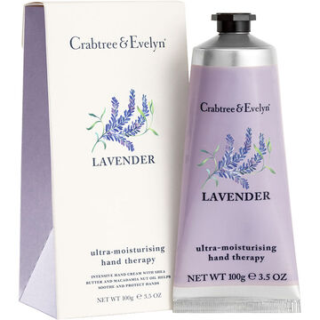 Crabtree & Evelyn Lavender Ultra-Moisturising Hand Therapy - 100ml