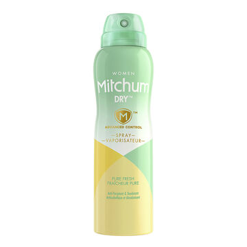 Mitchum Women Dry Spray Anti-Perspirant - Pure Fresh - 113g