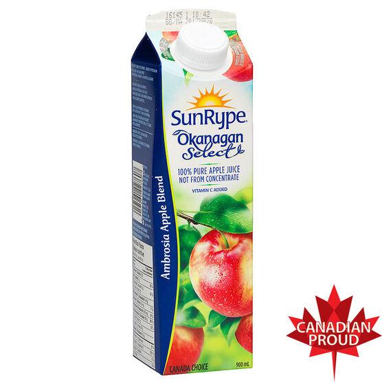 SunRype Ambrosia Apple Juice - 900ml