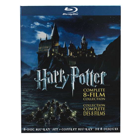 Harry Potter: The Complete  8-Film Collection - Blu-ray