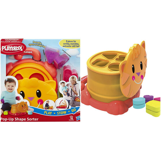 Playskool Pop-Up Shape Sorter - B19142290