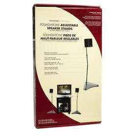 Sanus 24-38-inch Speaker Stand - Black - HTB4B