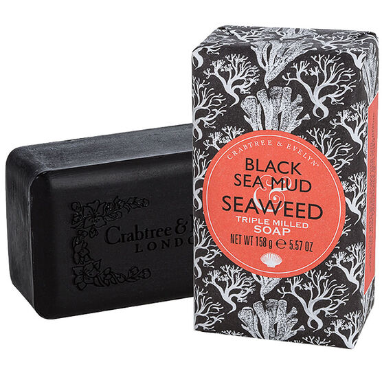 Crabtree & Evelyn Black Sea Mud & Seaweed Triple Milled Soap - 158g