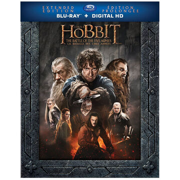 The Hobbit: The Battle of Five Armies (Extended Edition) - Blu-ray