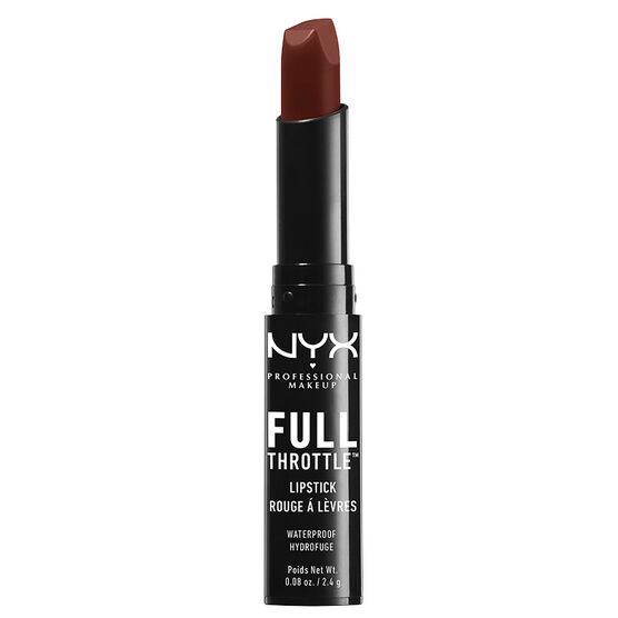 NYX Professional Makeup Full Throttle Lipstick - Con Artist