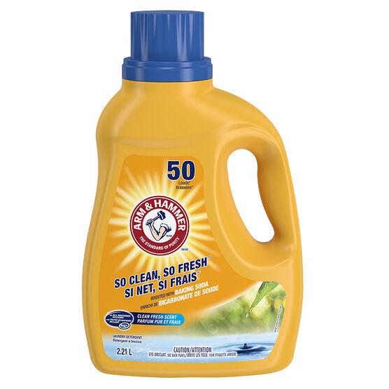 Arm & Hammer 2X HE Laundry Detergent - Clean Fresh - 2.03L