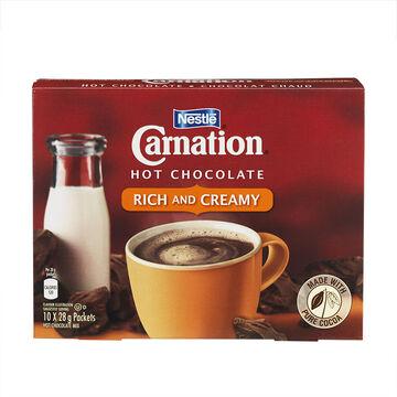 Nestle Carnation Hot Chocolate - 10 x 28g