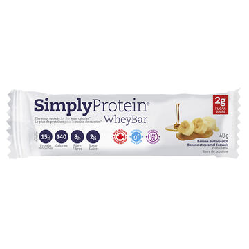Simply Protein Whey Bar - Banana Butterscotch - 40g
