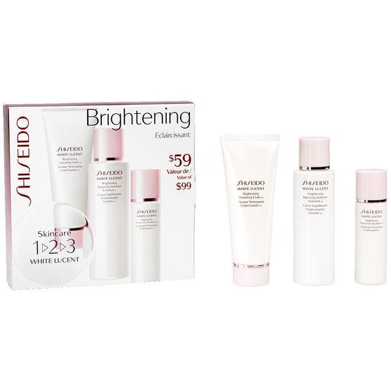 Shiseido White Lucent Brightening 123 Kit