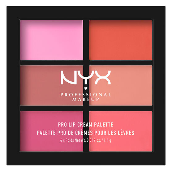 NYX Professional Makeup Pro Lip Cream Palette - Pink