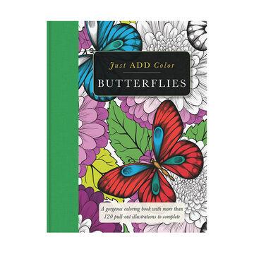Just ADD Color - Butterflies