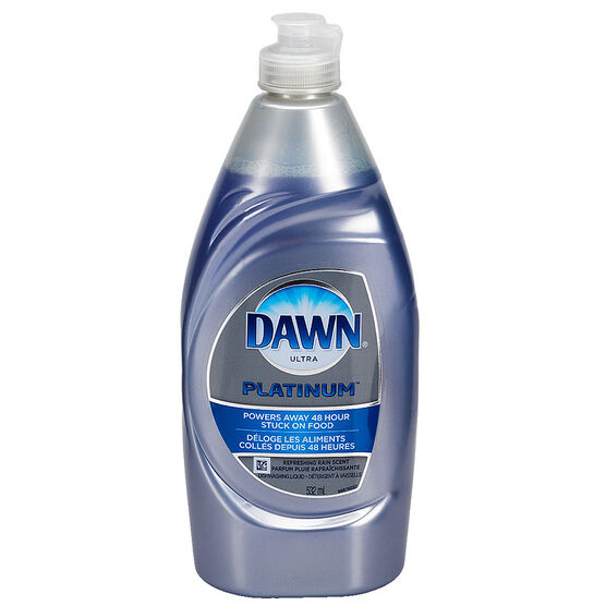Dawn Ultra Platinum Dish Washing Soap - Refreshing Rain - 532ml