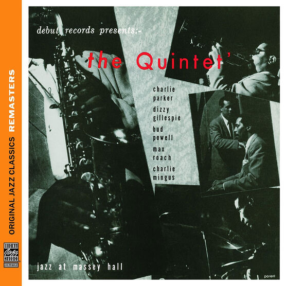 The Quintet: Jazz at Massey Hall - CD