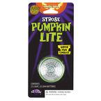 Halloween Pumpkin Strobe Lite - White