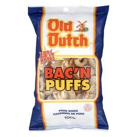 Old Dutch Bacon n Puffs - 100g