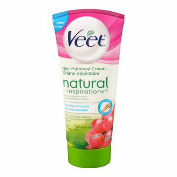 Veet Natural Inspirations Hair Removal Cream - Sensitive Formula - 200ml