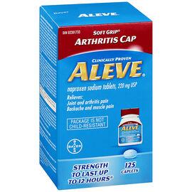 Aleve 220mg Arthritis Caplets - 125's