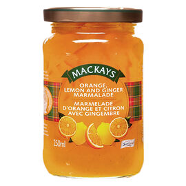 Mackays Marmalade - Orange and Lemon with Ginger - 250ml