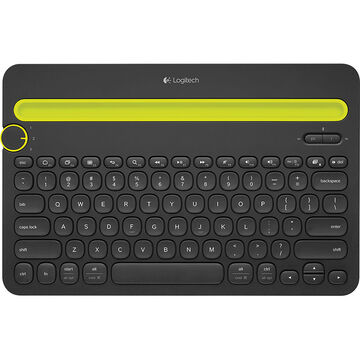Logitech K480 Bluetooth Keyboard - Black - 920-006342