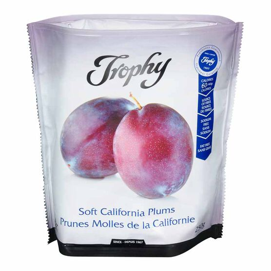 Trophy Soft California Plums - 250g