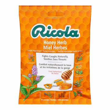 Ricola Swiss Herb Drops - Honey Herb - 75g