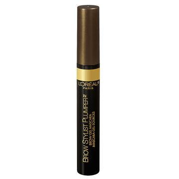 L'Oreal Brow Stylist Plumper Gel Mascara - Medium to Dark