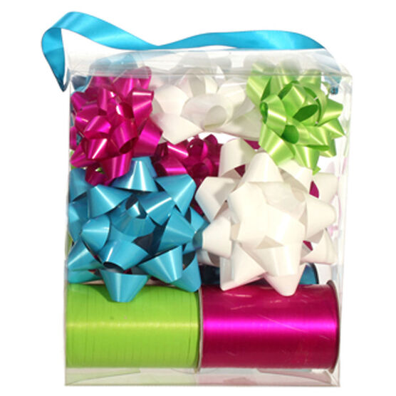 Winter Wishes Whimsical Bow and Ribbon Pack - 16 pieces