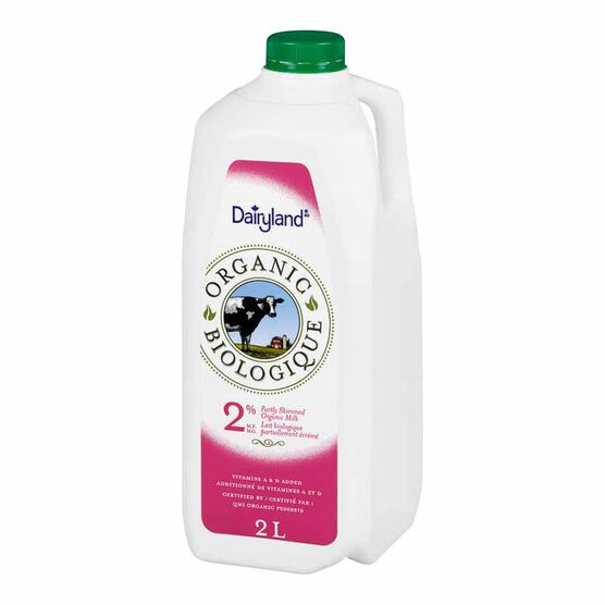 Dairyland Organic 2% Milk - 2L