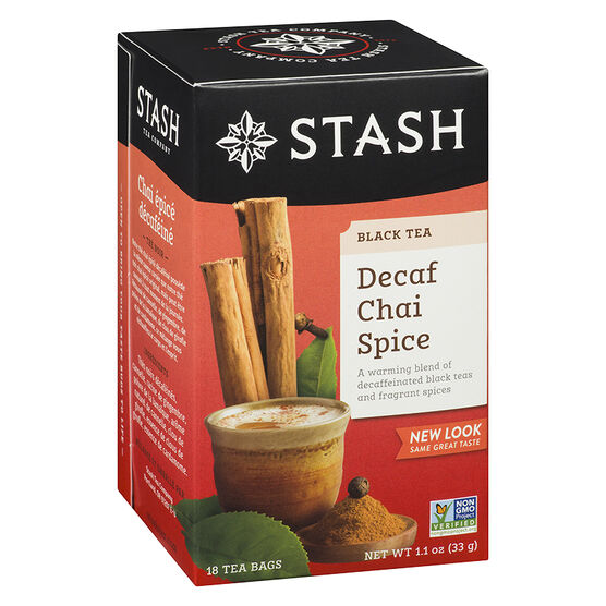 Stash Decaf Chai Spice Tea - 18's
