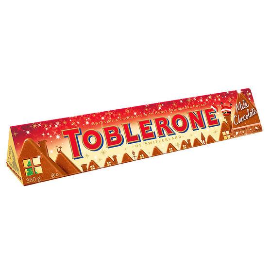 Toblerone Festive Bar - Milk Chocolate - 360g