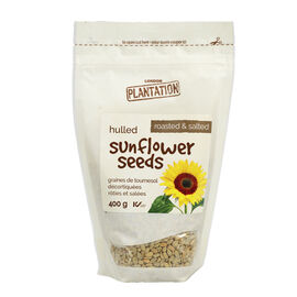 London Plantation Hulled Sunflower Seeds - Roasted & Salted - 400g