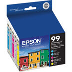 Epson 99 Claria Hi-Definition Ink 99 Standard-Capacity Colour Ink Cartridge - Colour Multi-pack - T099920-S