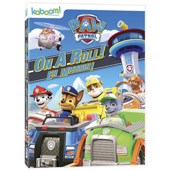 Paw Patrol: On A Roll! - DVD
