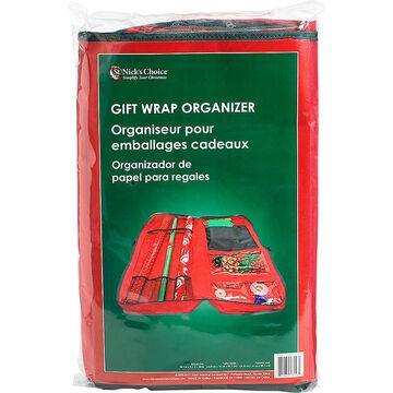 Christmas Gift Wrap Organizer Storage Bag