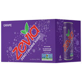 Zevia Soda - Grape - 6 x 355ml